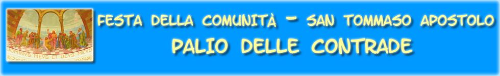 Festa della Comunità San Tommaso Apostolo